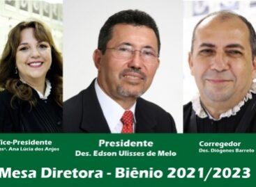 Pleno elege Mesa Diretora para o biênio 2021/2023