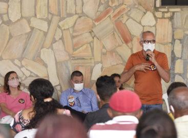 Edvaldo recebe o apoio de pastores e lideranças evangélicas