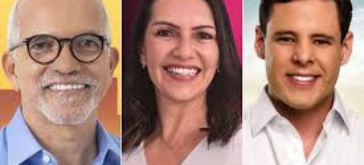 Ibope confirma Edvaldo com 36%, Danielle  com 21% e Rodrigo com 10%