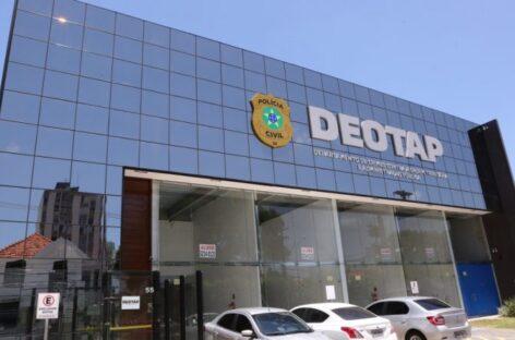 Deotap instaura mais de 160 inquéritos e desarticula crimes contra administração pública