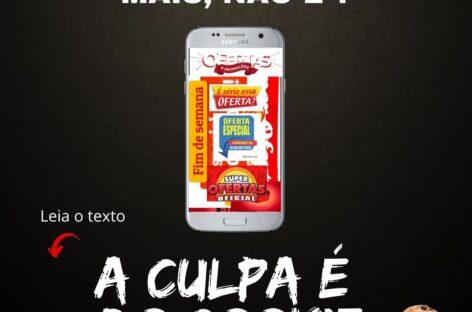 A CULPA É DO COOKIE!