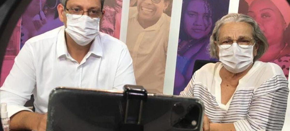 Márcio Macêdo e Ana Lúcia defendem fortalecimento da atenção primária à saúde