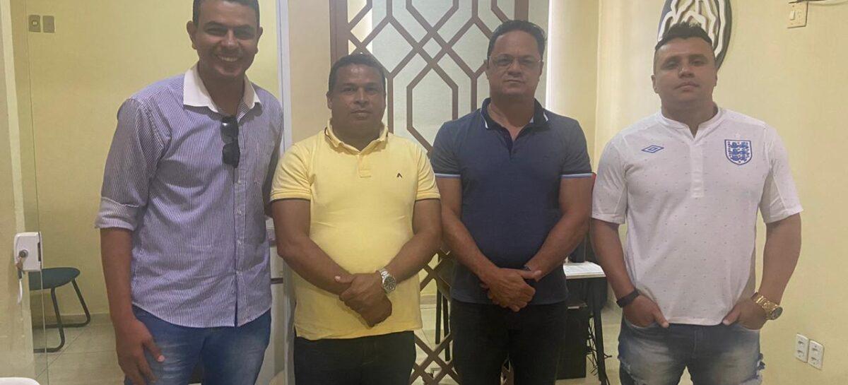 Capitão Samuel participa de reunião política com o ex-candidato a prefeito de Estância