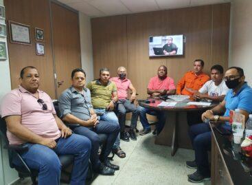 Representantes de associações militares se reuniram no gabinete do Capitão Samuel