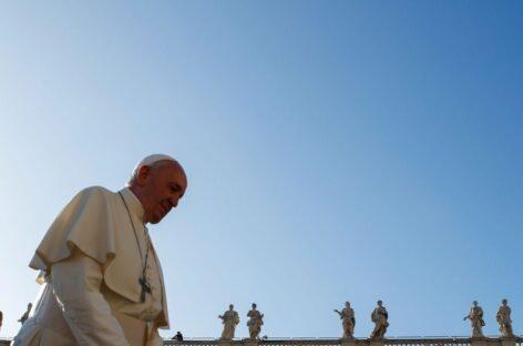 Papa lembra vítimas da pandemia em mensagem pelo Dia Mundial da Paz