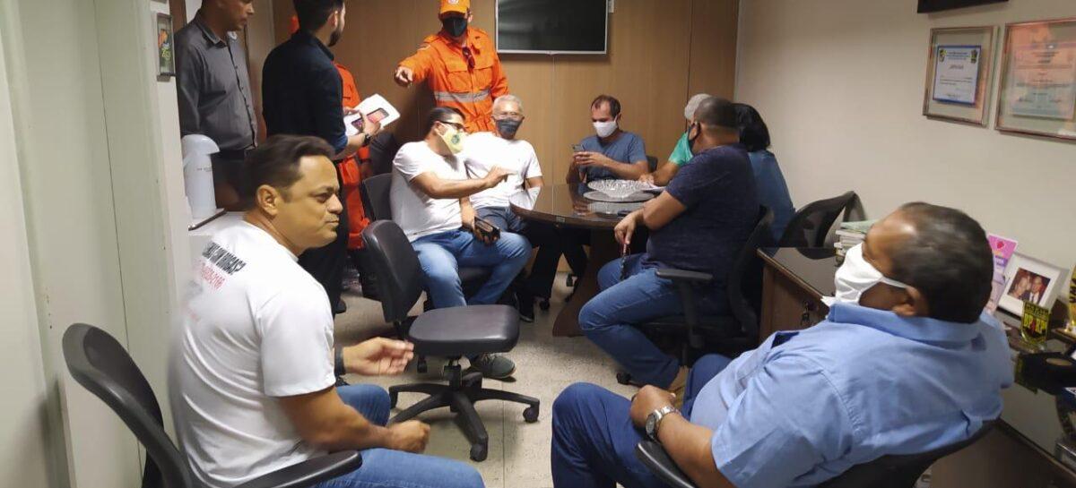 Samuel se reúne com as Associações militares para tratar da previdência dos servidores
