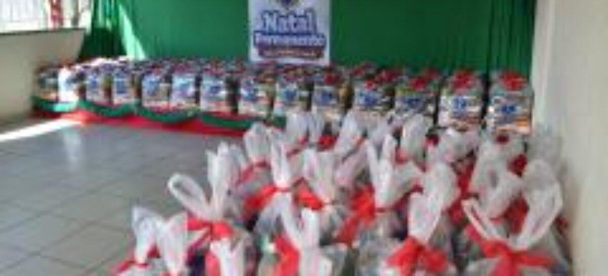 Nesse Natal a LBV entrega cestas de alimentos as famílias em Sergipe