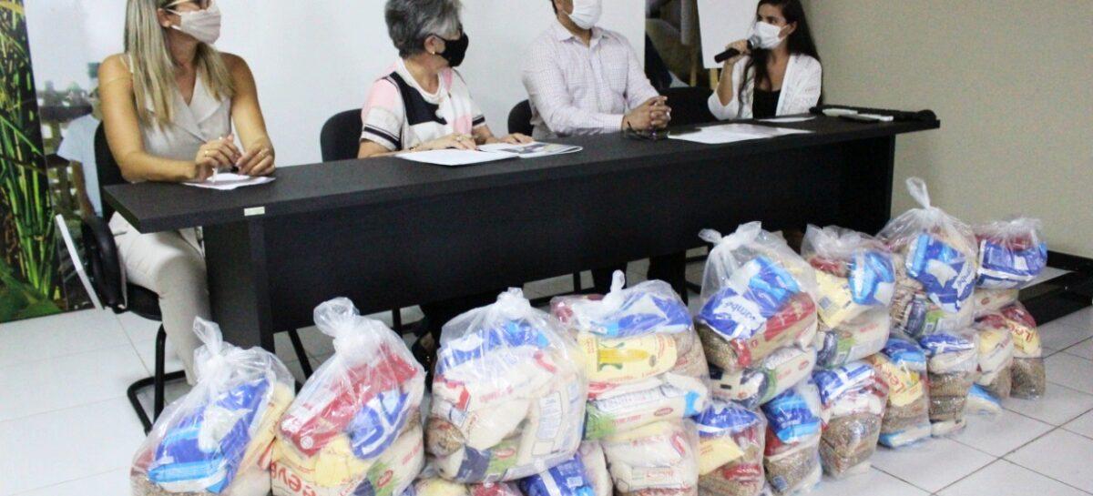 Sergipe recebe cerca de 4 mil cestas básicas do Governo para mulheres vulneráveis