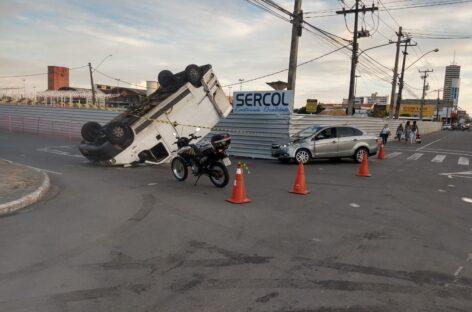 CPTran registra acidentes de trânsito no Centro e em São Cristóvão