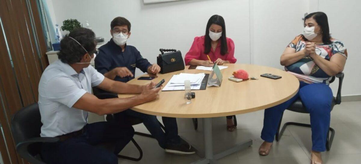 Funcionamento do hospital da criança é discutido durante reunião