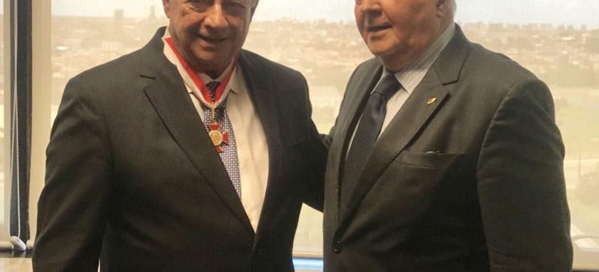 Conselheiro Carlos Pinna exalta 80 anos de Gilton Garcia, que já foi procurador no TCE