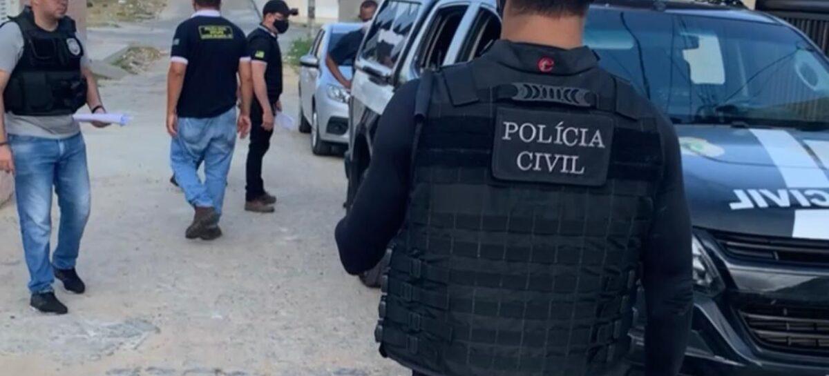 PC prende suspeito de tráfico de drogas e associação para o tráfico em Itabaiana
