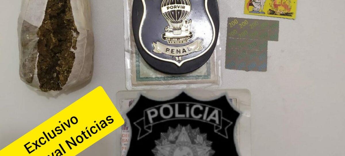 Mulher é presa em flagrante tentando entrar com drogas nas partes intimas