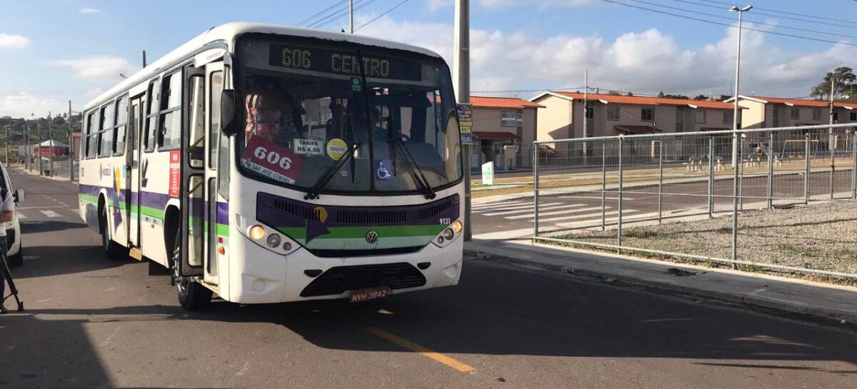 Duas linhas de ônibus começam a atender nova área na Grande Aracaju