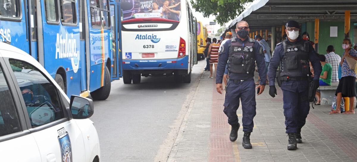 Operação Terminal Seguro reduz crimes no transporte público em Aracaju