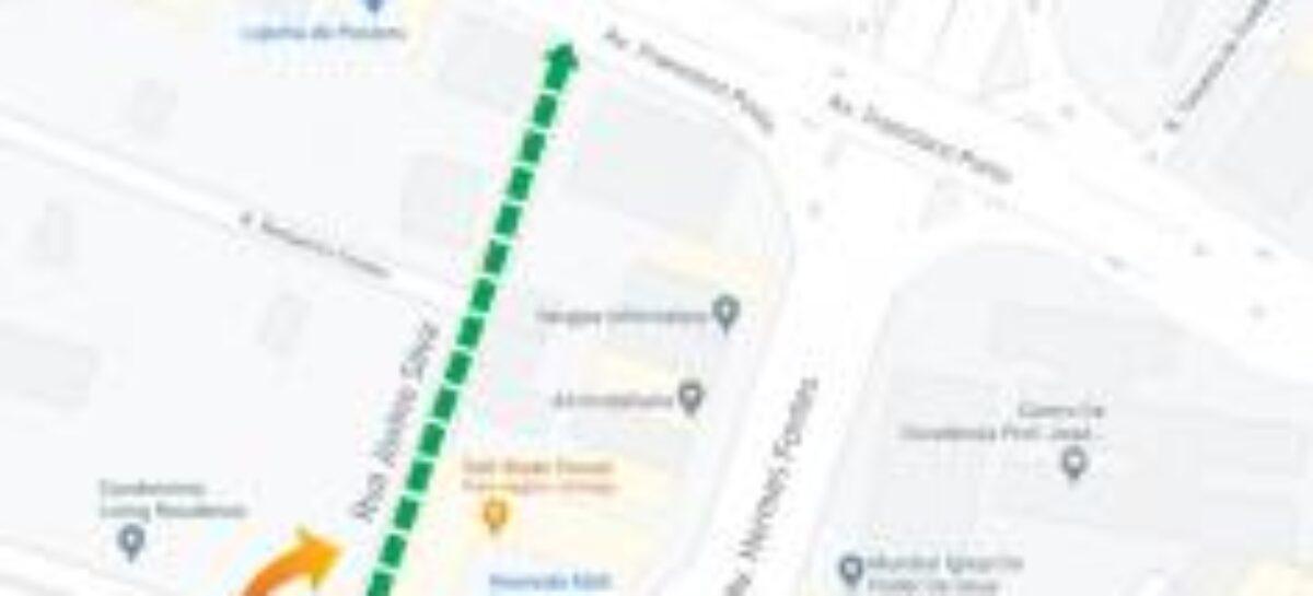 SMTT muda circulação da rua Jovino Silva, no Luzia, a partir desta terça-feira