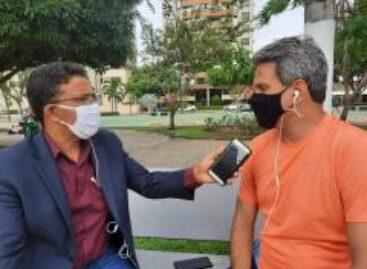 """""""Paulão fez mais um mal ao povo de Laranjeiras"""", lamenta o prefeito Juca"""