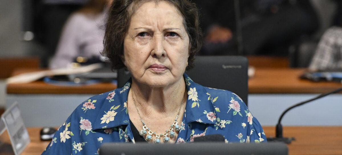 Senadora defende agilidade na apreciação do Pacto Federativo