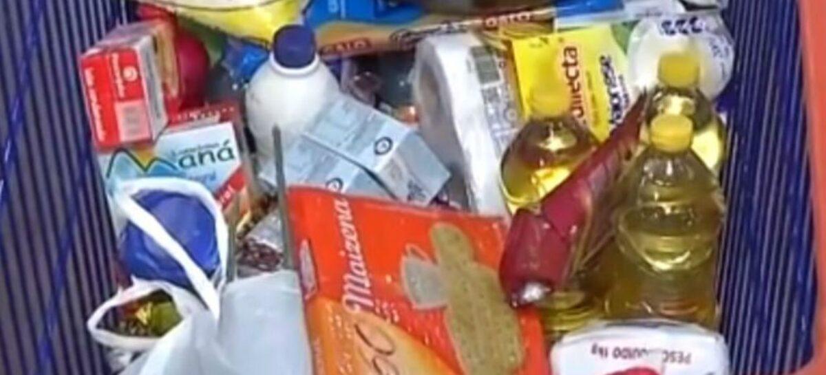 Dieese: custo da cesta básica sobe em janeiro em 13 capitais e cai em Aracaju