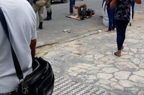 Homem é baleado por tiros, socorrido é levado ao Huse em estado grave