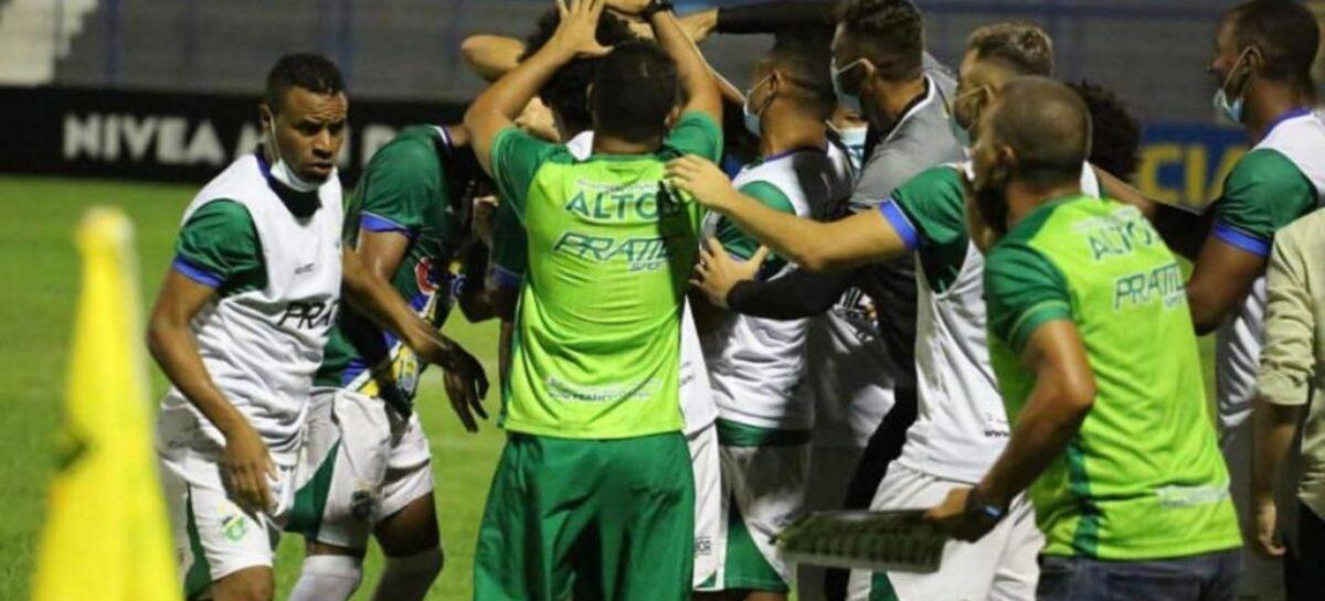 Confiança estreia com derrota por 2 a 1 na Copa do Nordeste, em Teresina