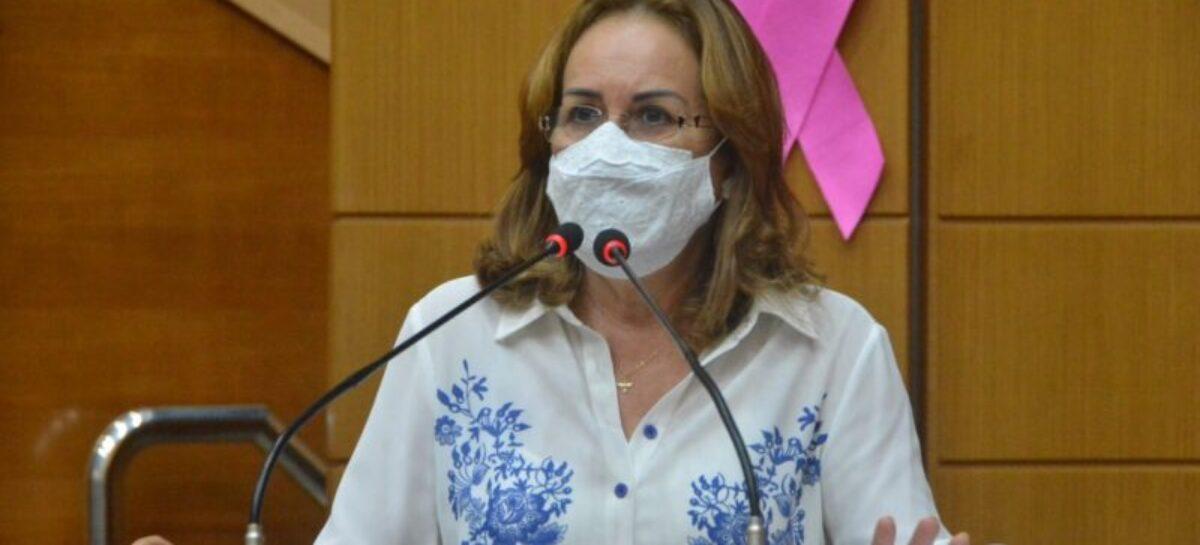 Deputada Goretti Reis é reconduzida à Procuradoria da Mulher
