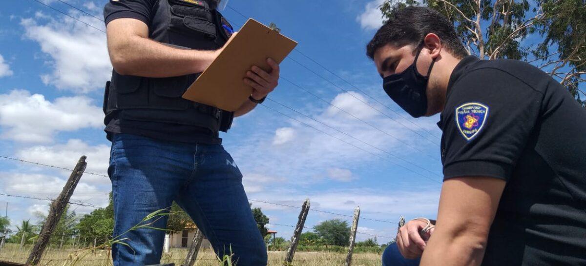 Operação Sede no Sertão: Cogerp, PC, PM e Deso combatem furto de água em Glória