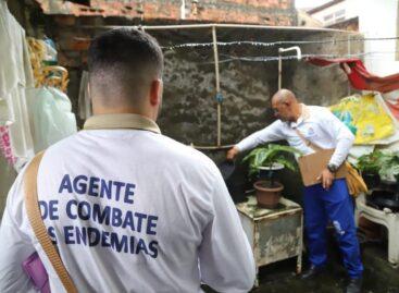 60,4% dos bairros de Aracaju apresentam baixo risco de infestação de aedes