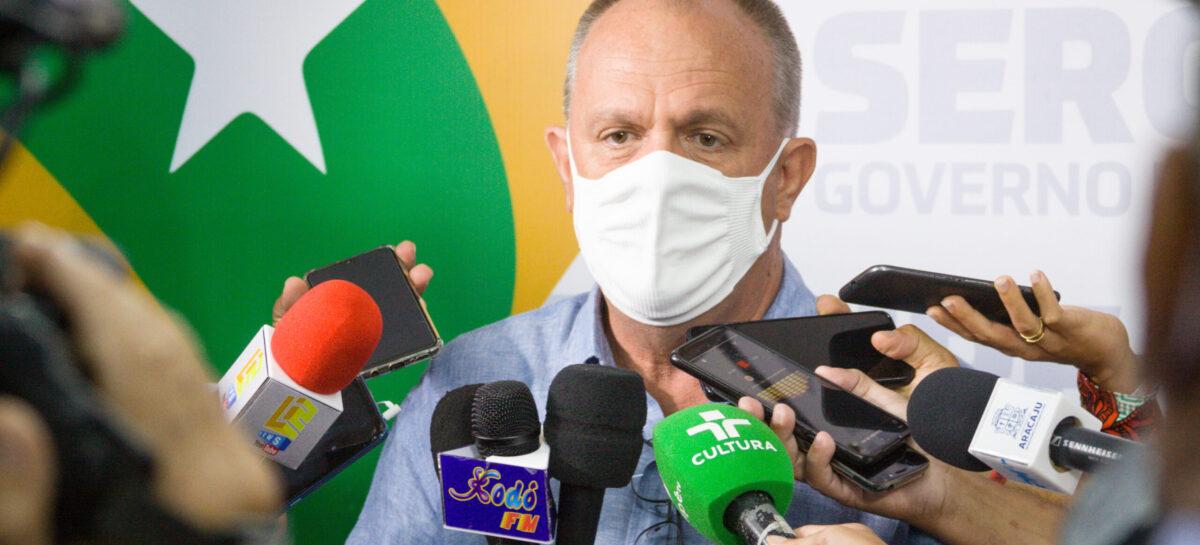 Belivaldo diz que iniciará vacinação de idosos de 80 a 89 anos no estado de Sergipe