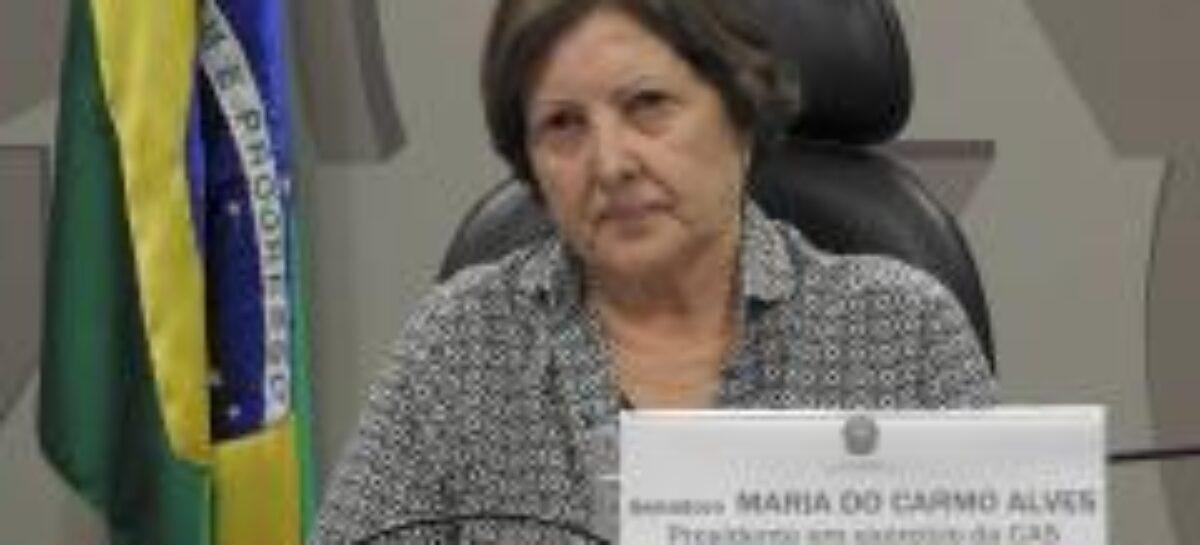 Maria do Carmo integra comissões importantes no Senado