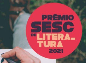 Estão abertas as inscrições para o Prêmio Sesc de Literatura 2021