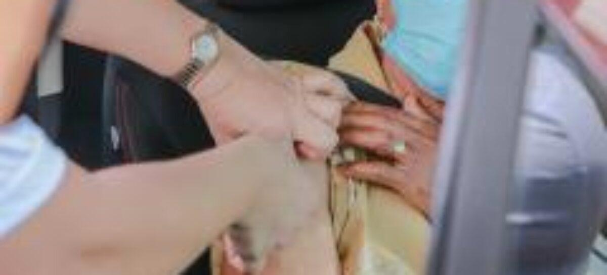 Covid-19: 64% dos idosos com 90 anos ou mais já foram vacinados em Sergipe