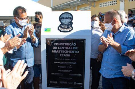 Governador inaugura nova Central de Abastecimento de Itabaiana