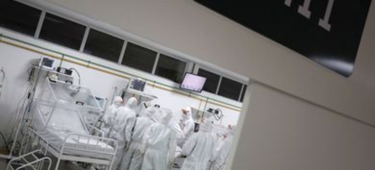 Covid-19: Saúde autoriza recursos para 3,2 mil leitos de UTI