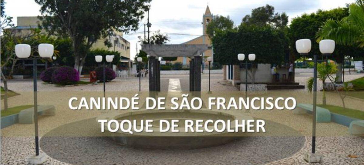 Prefeitura de Canindé decreta toque de recolher a partir desta quarta-feira