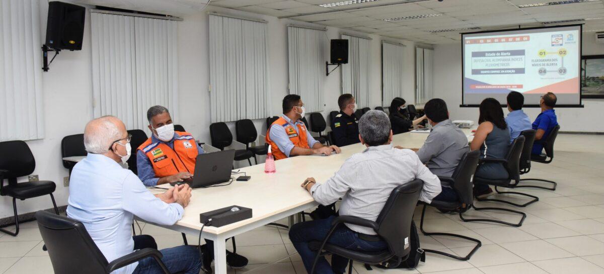 Prefeitura de Aracaju discute novo Plano de Contingência para períodos chuvosos
