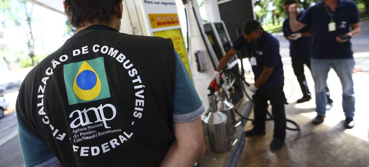 ANP autua postos de gasolina durante primeiro dia de força-tarefa, inclusive em Sergipe