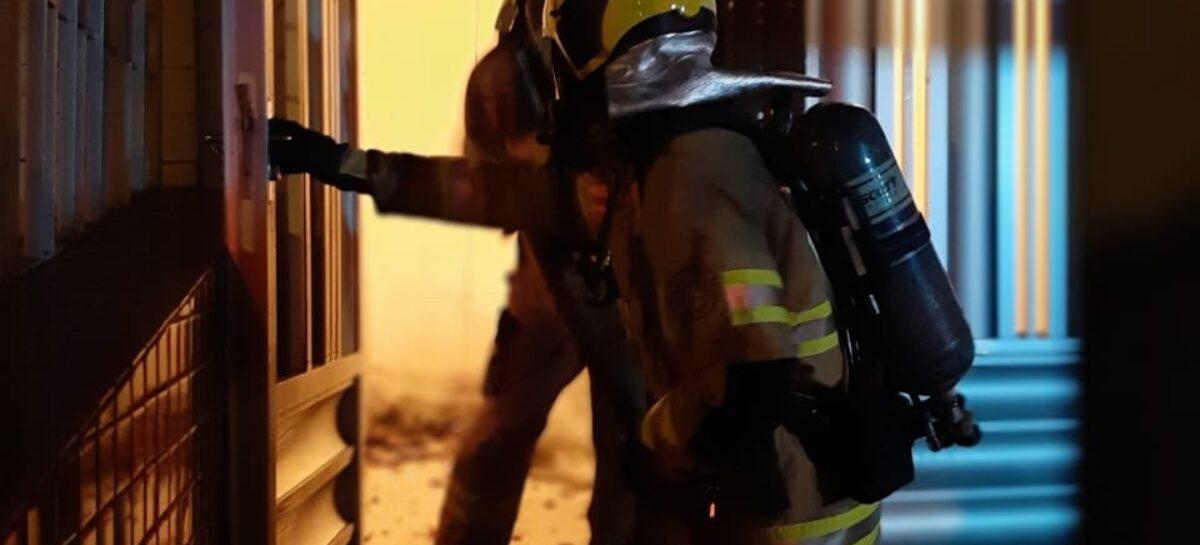 Bombeiros combatem dois incêndios em Aracaju nas últimas 24 horas