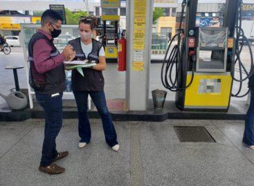 Procon Aracaju intensifica fiscalizações nos postos de combustíveis