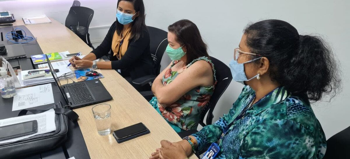Estado, PMA e Hospital Universitário discutem abertura de novos leitos covid