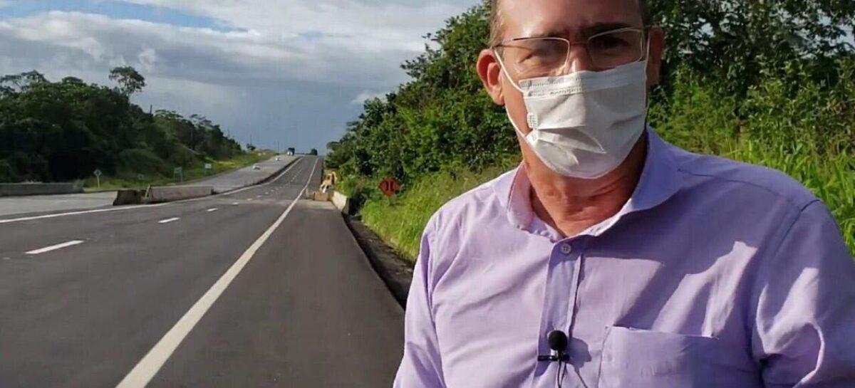 Dnit libera mais um trecho de duplicação da BR 101 Norte no estado de Sergipe