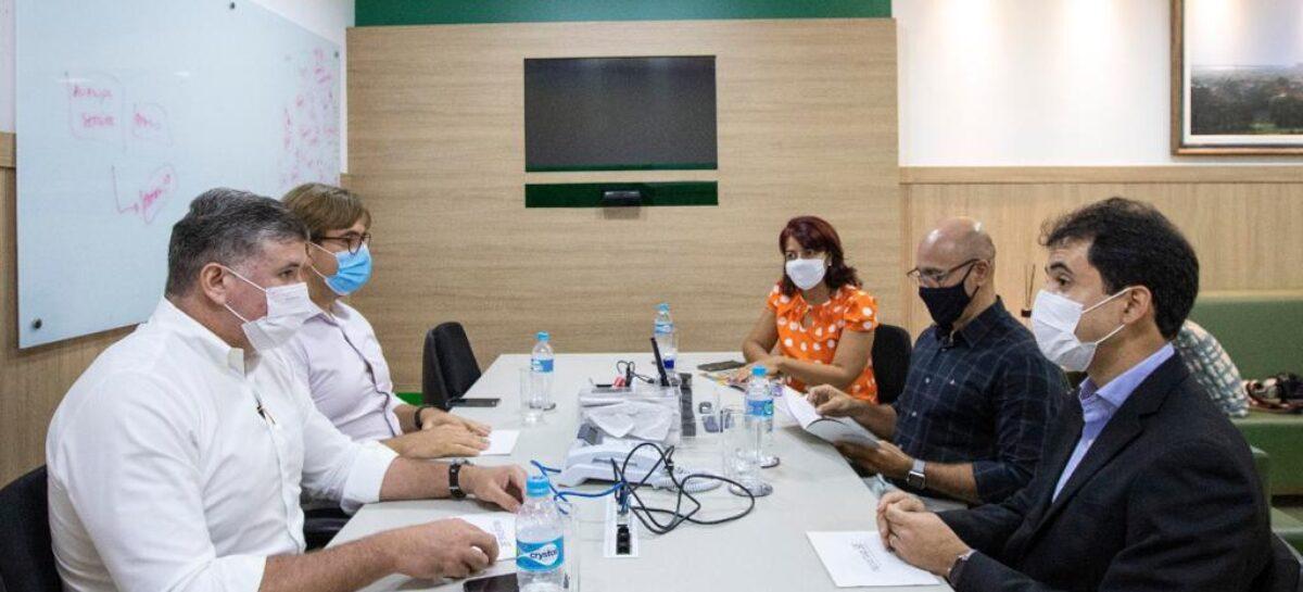 Banese e Fames discutem financiamento de salários atrasados de municípios