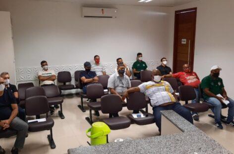 FSF realiza reunião com dirigentes dos clubes participantes do Sergipão