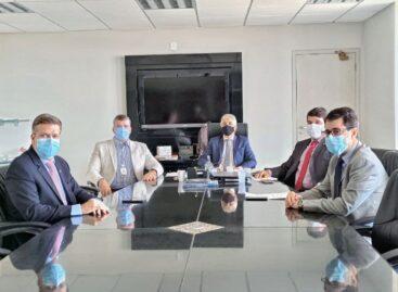 MPSE recebe visita do Presidente da Federação dos Municípios de Sergipe