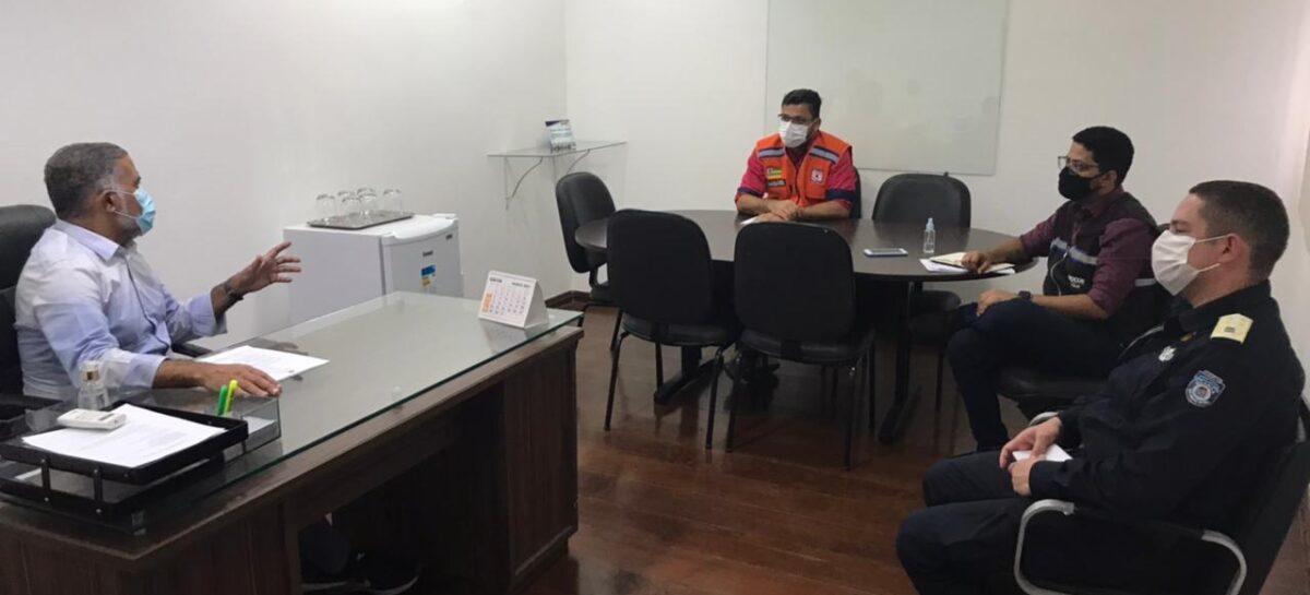 Força-tarefa fiscalizará o cumprimento das medidas restritivas nas praias de Aracaju