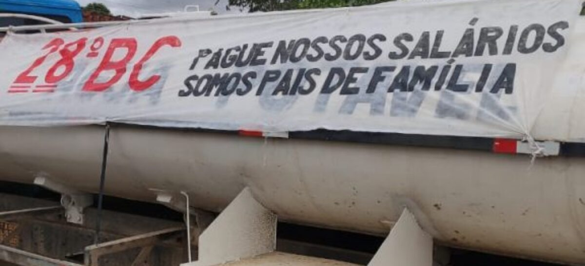 Após manifestação, Pipeiros cobram em Carira pagamentos atrasados