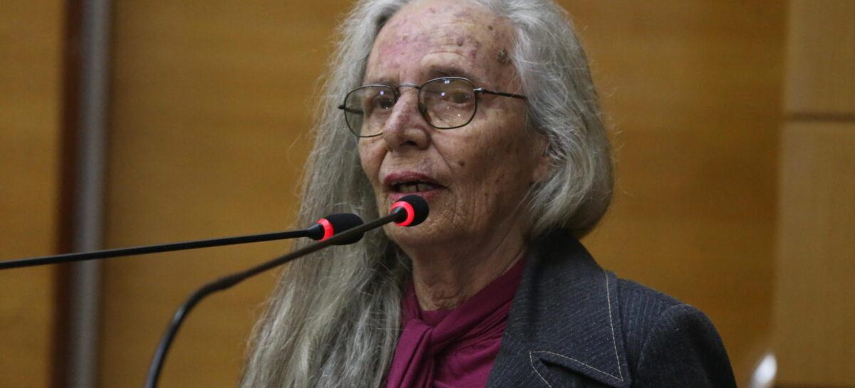 Alese emite nota de pesar pela jornalista Ilma Fontes