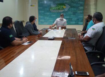 Presidente da FAMES recebe representantes do Movimento Polícia Unida e apoia categoria