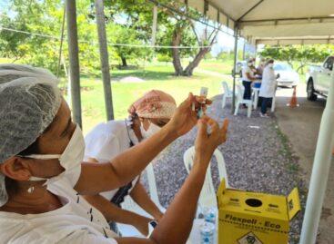 PMA aplica 4.521 doses durante o feriado e ultrapassa 10% da população vacinada