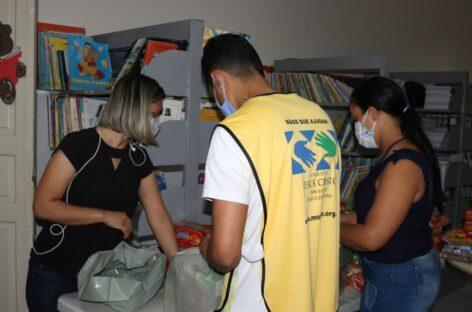 Mãos Que Ajudam a Aliviar a Pandemia realiza ação voluntária